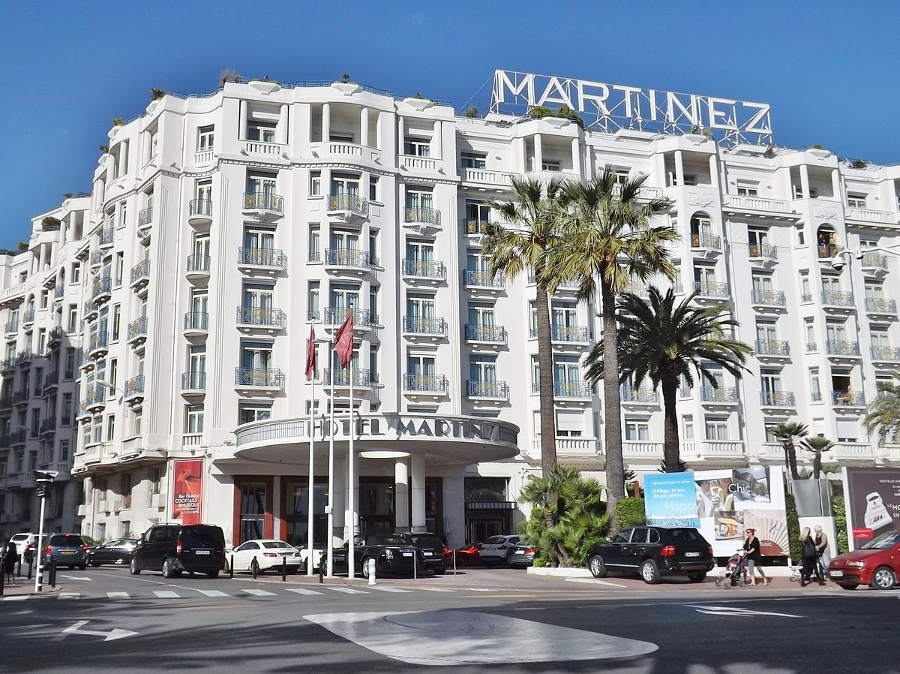 Chantier en cours : HOTEL GRAND HYATT MARTINEZ À CANNES